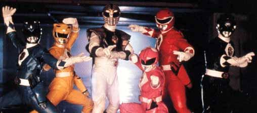 Power Rangers doin' the armor thing in MMPR:TM